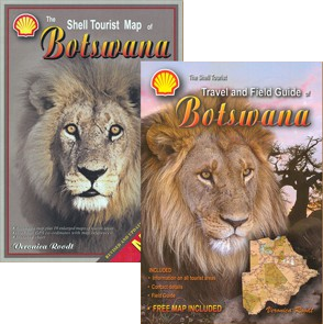 The Shell Tourist Map & Travel Guide of Botswana
